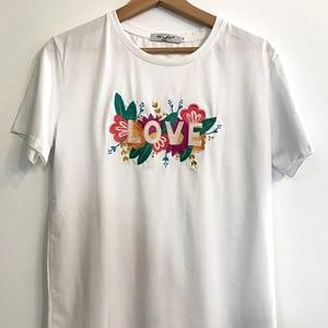 Tee-shirt message